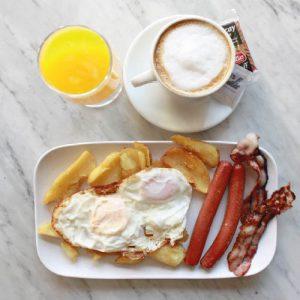 Desayuno inglés en Madrid Madriz
