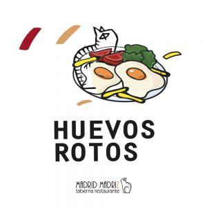 Icono Huevos rotos Madrid Madriz