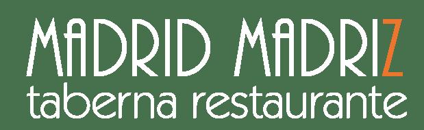 Madrid Madriz Restaurante de tapas en Malasaña logotipo