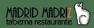 logotipo Madrid Madriz Restaurante de tapas en Malasaña
