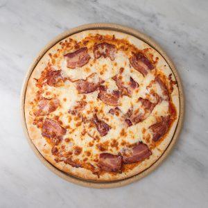 Pizza cebolla y bacon