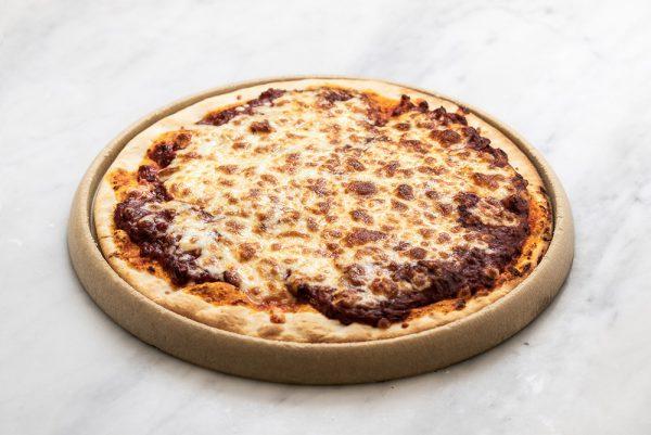 Pizza picadillo de ciervo