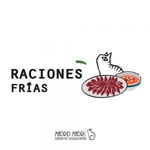 Icono raciones frías Madrid Madriz