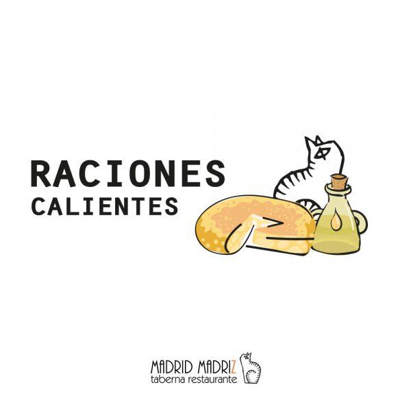 Icono raciones calientes Madrid Madriz