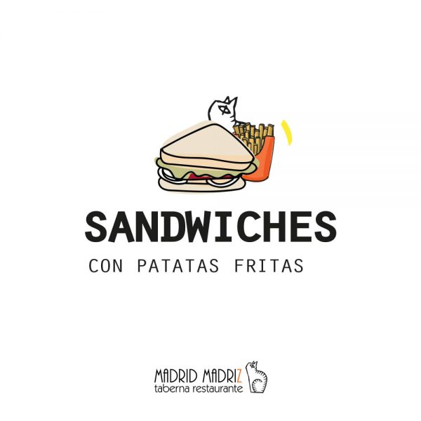 Icono sandwiches Madrid Madriz