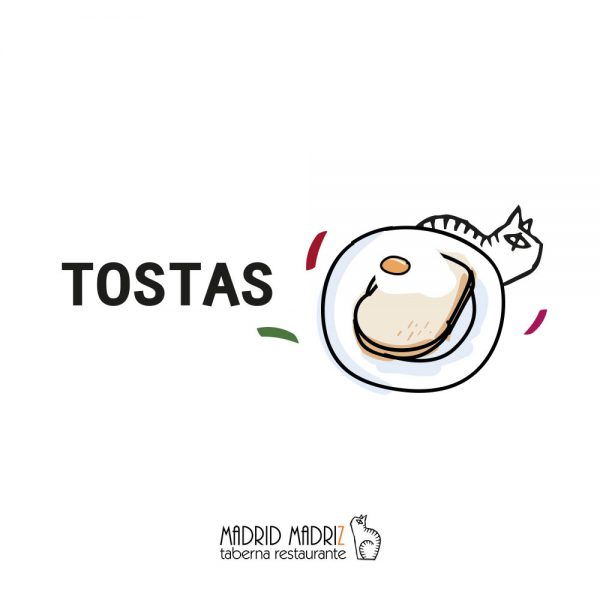 Icono tostas Madrid Madriz