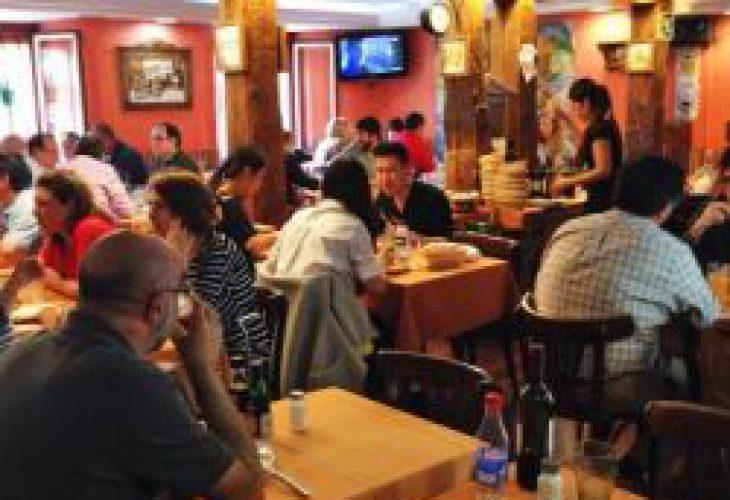 Interior de restaurante Madrid Madriz en Malasaña